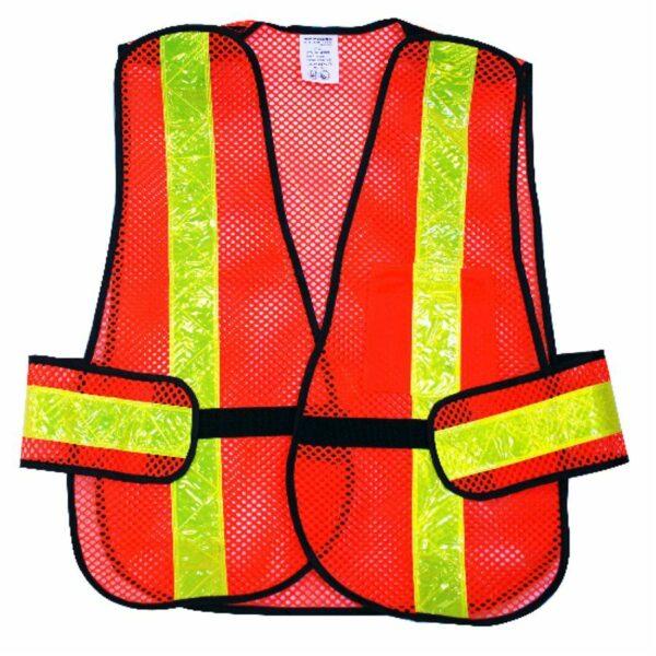 Safety Vest 5-point Tear-away Hi-vis Orange (osfa)