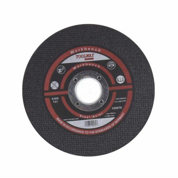 Cut-off Wheel Ultra Thin Abrasive 4½in X .045 X 7 / 8in Metal