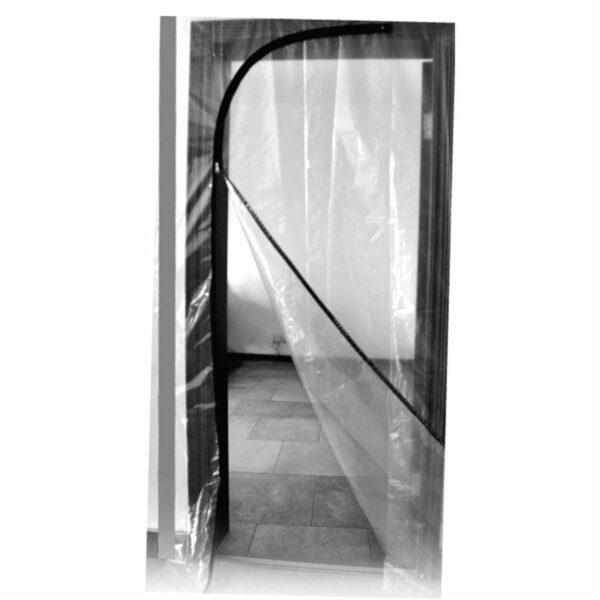 Zipper Door 220cm High X 112cm Wide