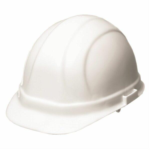 White Hardhat ABS 4-Point Ratchet Ridgeline