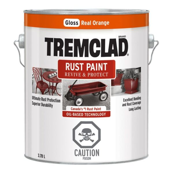 Paint Rust 3.78l Real Orange Tremco