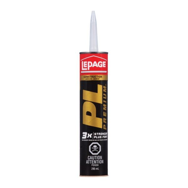Construction Adhesive Pl Premium 3x 295ml Lepage