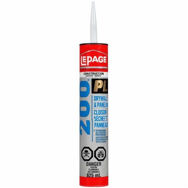 Construction & Panel Adhesive Pl200 825ml Lepage
