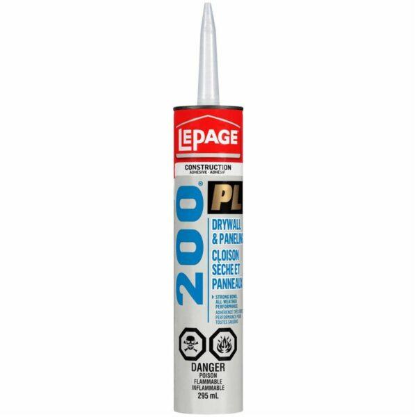 Construction & Panel Adhesive Pl200 295ml Lepage