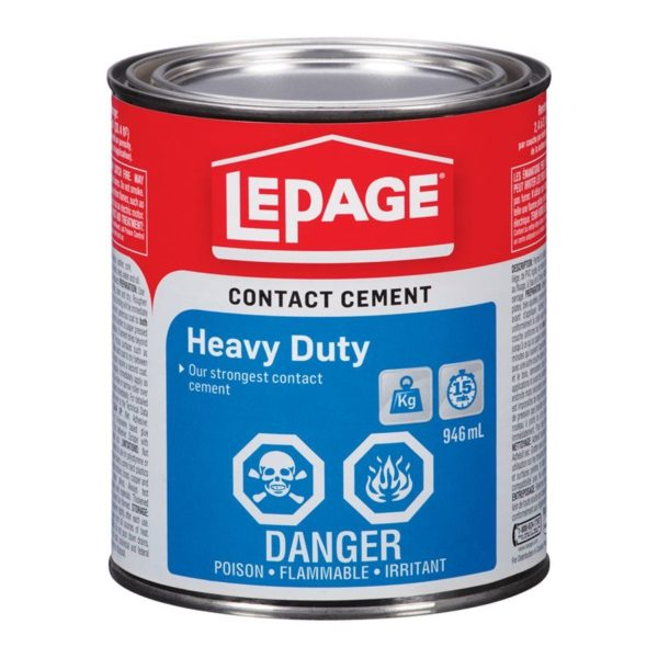Contact Cement Hd 946ml Lepage