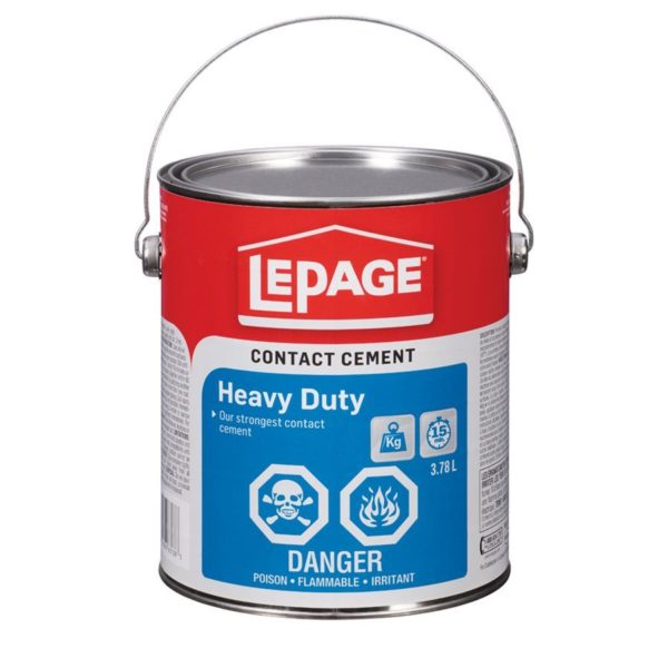 Contact Cement Hd 3.78l Lepage