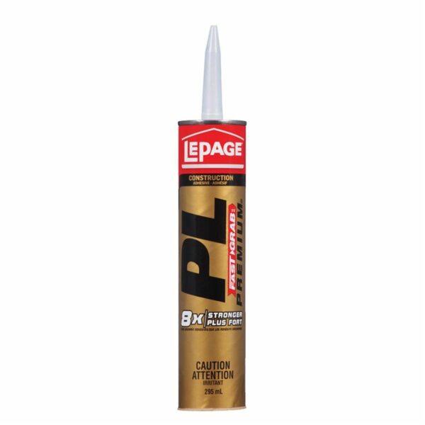 Adhesive Pl Premium Fast Grab / 8x 296ml Lepage