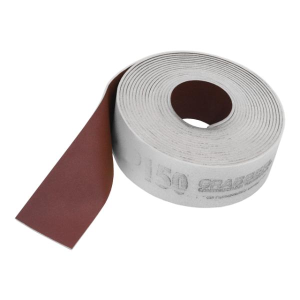 """Foam Backed Sandpaper - 3-1/2"""" wide - 120 Grit"""