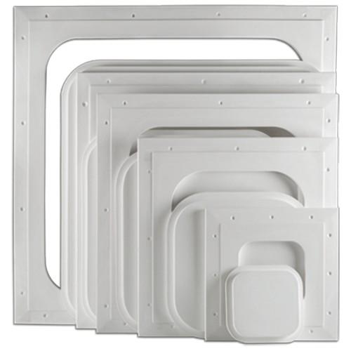 "9"" x 9"" Pop-Out Square Corner Access Panel"