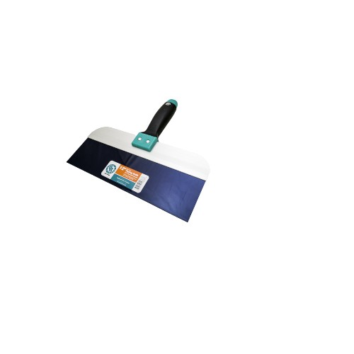 """8"""" Taping Knife (B/S)  w/ Ergo Soft Handle"""