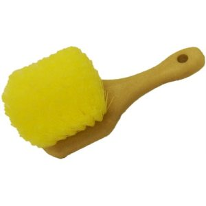 "Short Handle (8"") Acid Scrub Brush"
