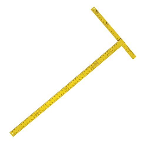 """48"""" High Visibility Drywall T-Square (3/16"""" Blade)"""