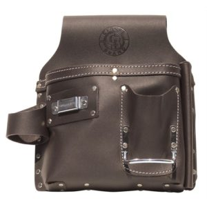 Leather Drywall Tool Pouch - Left Hand