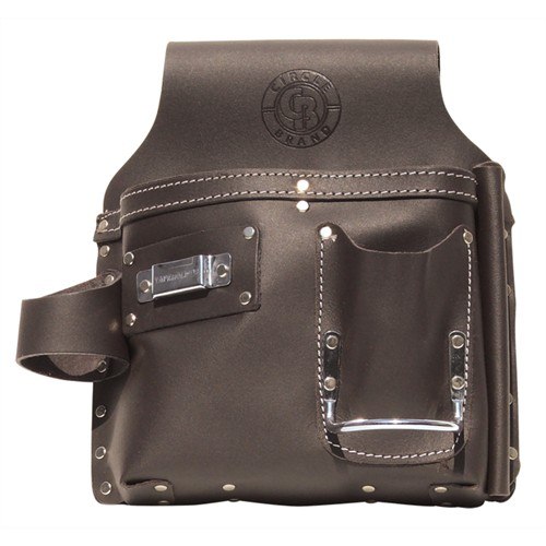 Leather Drywall Tool Pouch - Right Hand
