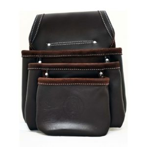 Leather Drywall Nail Pouch - 4 Pocket