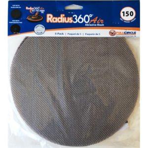 #150 Grit Mesh Abrasive (For Radius 360 Air) - 5 Sheets/PK