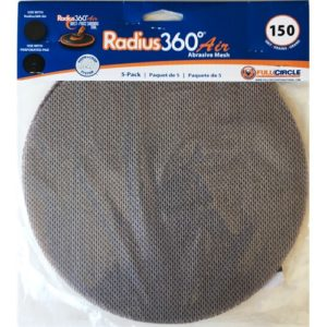 #180 Grit Mesh Abrasive (For Radius 360 Air) - 5 Sheets/PK
