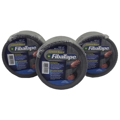"""FibaTape Self-adh Alkali-Resistant Cement Board Tape 2"""" x 150' Roll"""