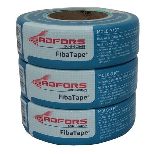 "FibaTape Mold-X10 Mold Resistant Drywall Tape 1 7/8"" x 300' Roll"