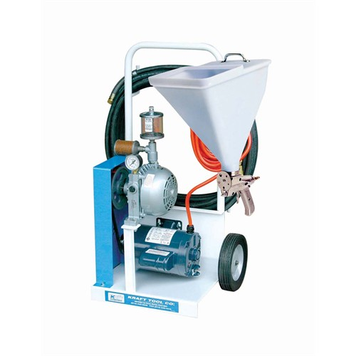 KRAFT Texture Spray Machine w/Super-Pro Gun & Hopper (2.5 gal capacity)