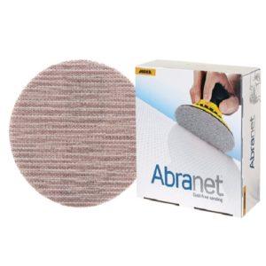 """Mirka Abranet 9"""" Mesh Grip Discs 120 Grit - 25/PK"""