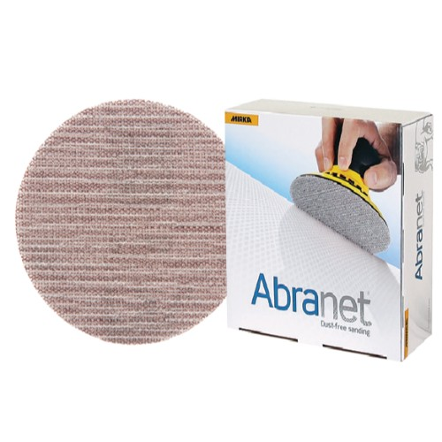 """Mirka Abranet 9"""" Mesh Grip Discs 180 Grit - 25/PK"""