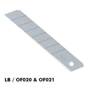 "OLFA   HBB-20B Extra Heavy Duty Blades ""UltraMax"" 20/PK"