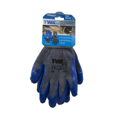 Coated Gloves (O/S) 12Pairs/Pkg