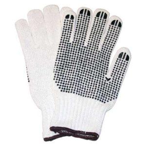 Gloves w/Grip Dots  (XL)    12 Pairs/pkg