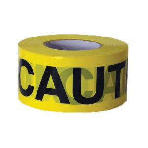 """CAUTION Tape (Yellow)  3"""" x 1000' /Roll"""