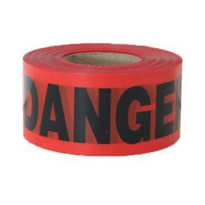 """DANGER Tape (Red) 3"""" x 1000' / Roll"""