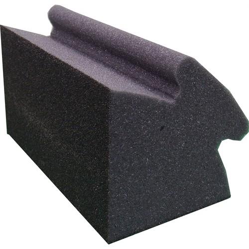 """INSIDE CORNER SANDING SPONGE (MEDIUM GRIT) 3-3/4"""" X 7"""" X 4-1/2""""    EA"""