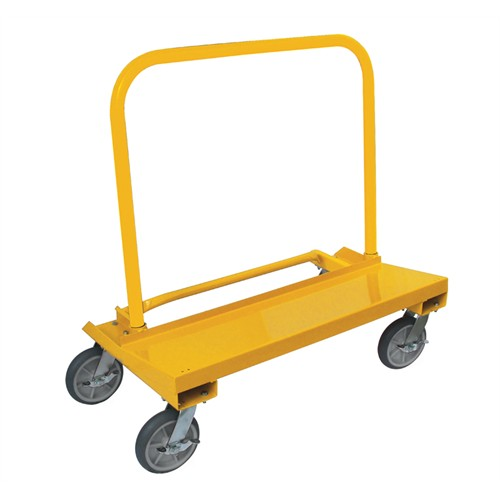EZ FOLD MATERIAL MOVER w/ 3 SWIVEL & 1 LOCKING CASTER