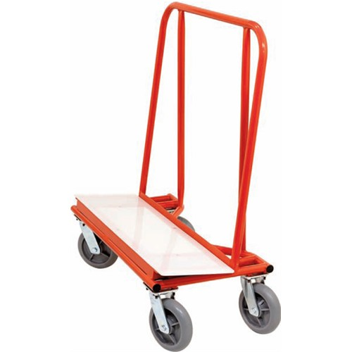 """10"""" Residential  Drywall Dolly Only w/  UHMW Base Plate"""