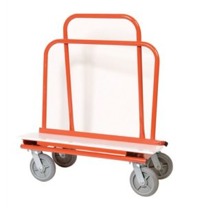 """14"""" Drywall Dolly Only w/  UHMW Base Plate"""