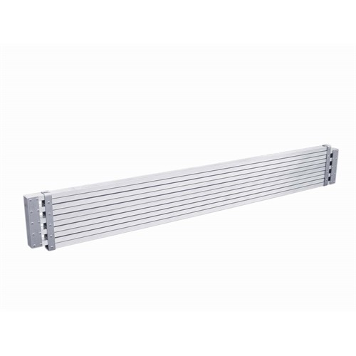 7' - 11'  Extendable Aluminum Plank     250 lb Rated
