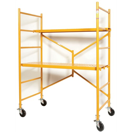 6' STEEL FOLDING TOWER SCAFFOLD    800 lb Rated