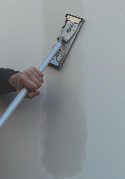 Express Sander w/ 3' - 7-1/2' Aluminum Extension Pole