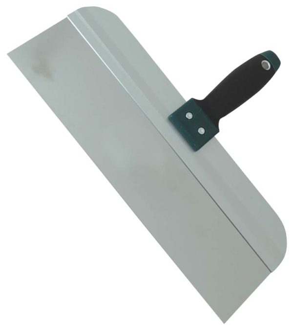 """10"""" Taping Knife (S/S)  w/ Ergo Soft Handle"""
