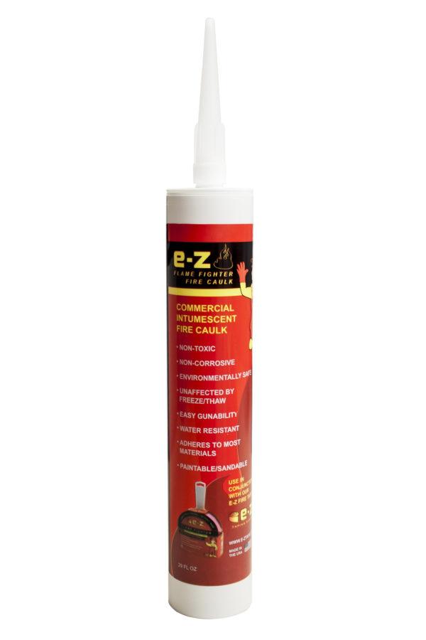 E-Z FLAME FIGHTER INTUMESCENT FIRE CAULK 29 OZ EA