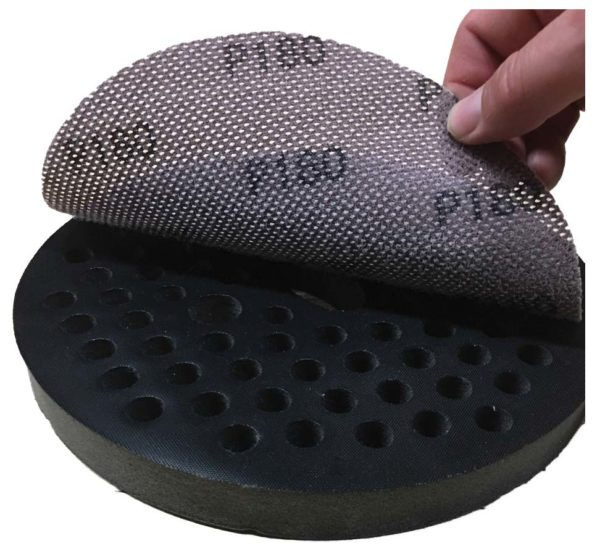 Perforated Foam Replacement Pad For Mesh Abrasive