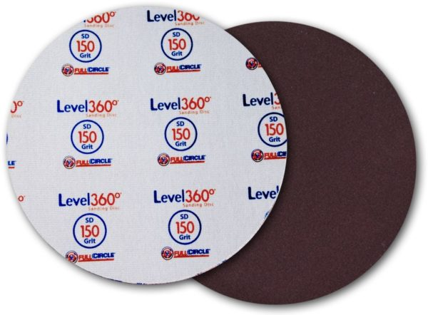Radius 360 Sanding Disc #150 Grit - 5 Discs/Pk