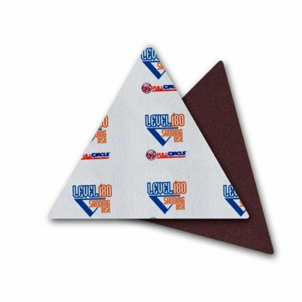 Trigon 180 Sandpaper Triangles #220 Grit - 5 Discs/PK