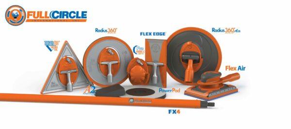150 Grit Flex Air Stearated Sandpaper - 10 Sheets/Pk