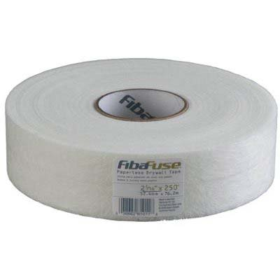 "FibaFuse® Creaseless Paperless Drywall Tape 2 1/16"" x 250' Roll"