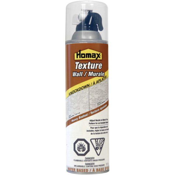 HOMAX Knockdown Texture Spray (20 oz)  Ea.