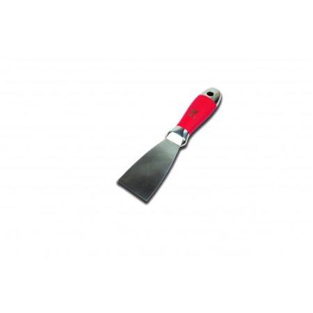 """NELA 1-1/2""""  One Piece S/S Joint  Knife w/ Anti Slip Handle"""