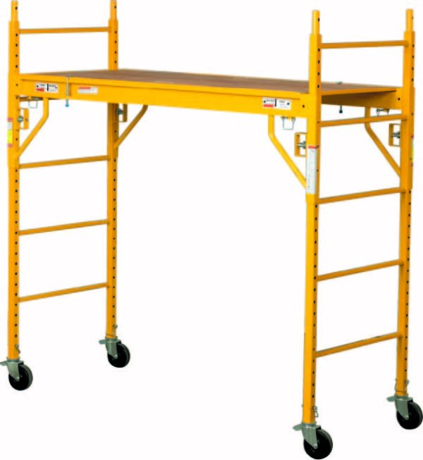 6' STEEL ROLLING TOWER SCAFFOLD  1000 lb Rated
