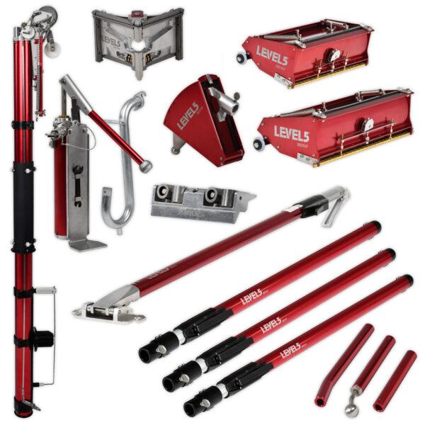 Level 5 Drywall Taping Tool Set